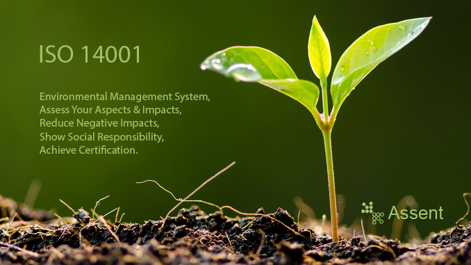 What are the requirements of ISO 14001?